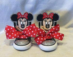 Custom bling Minnie mouse sneakers for Sale in Columbus, OH