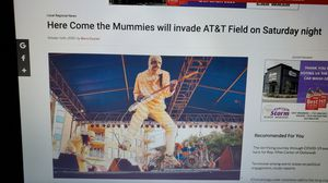 The mummies tickets 2 for 40 for Sale in Chattanooga, TN