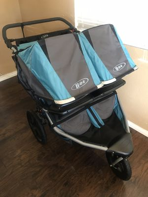 Bob Double Stroller revolution flex duallie Read Description First for Sale in Lincoln Acres, CA