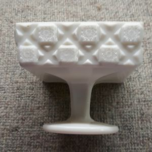 "Vintage Westmoreland Square Milk Glass Candy Dish ""Old Quilt for Sale in Puyallup, WA"