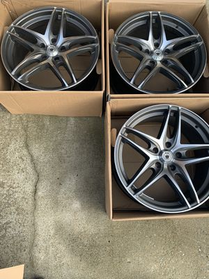 3 (18 Inch) Helo Rims! (Discontinued From Manufacturer!) (No Lugnuts) for Sale in Clarksville, TN