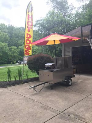 Hotdog Food Cart for Sale in Winfield, WV