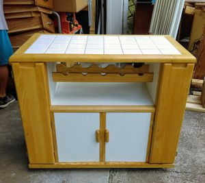 Portable kitchen island for Sale in Marietta, GA