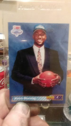 Alonzo Mourning rookie card #2 for Sale in Balfour, ND