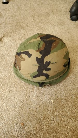 Vietnam War army helmet for Sale in Fairfax, VA