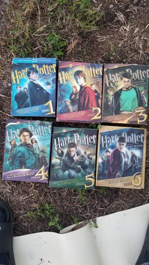 Harry Potter limited edition movie collection movie for Sale in Hudson, FL