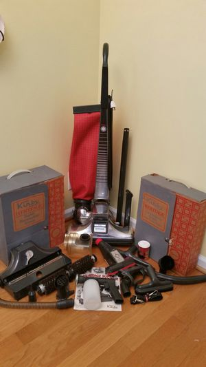 Kirtby Heritage Vacuum with Attachments & Shampooer for Sale in Versailles, KY