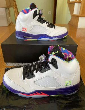 JORDAN 5 BEL AIR SIZES 10.5 11 12 13 AVAILABLE [IN HAND BRAND NEW] for Sale in Kissimmee, FL