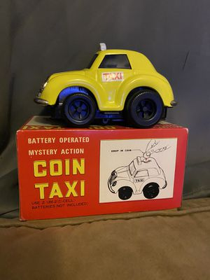 2 Vintage (red and yellow)coin taxi for Sale in Chula Vista, CA