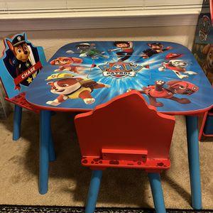 Paw patrol kids Activity Table for Sale in Virginia Beach, VA