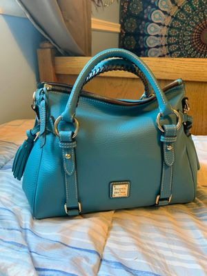 Dooney and Bourke small pebble satchel in RARE Turquoise!!! for Sale in Livonia, MI