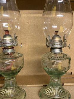 Oil Hurricane Lamps for Sale in Coraopolis,  PA