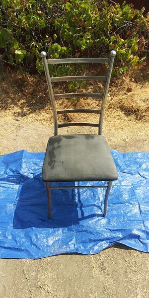 Metal chair for Sale in Fresno, CA