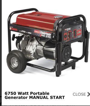 Powermate generator 8500 watts for Sale in Pinellas Park, FL