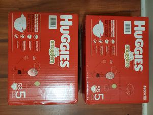Huggies snuggle size 5 brand new $40 for both or $20 ea for Sale in Aledo, TX
