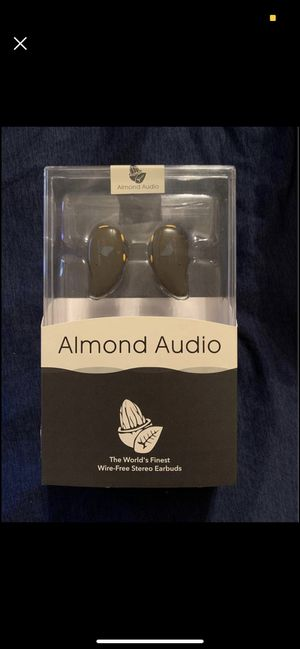 Earbuds Bluetooth Wireless Almond Audio for Sale in Westminster, CO