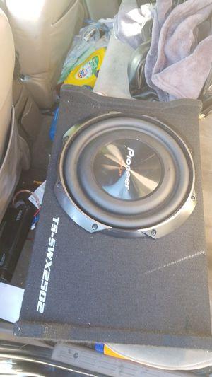 Sub speaker 10 pioneer bumps for Sale in San Diego, CA