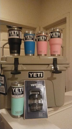 Yeti Roadie and Ramblers Best Offer for Sale in Austin, TX