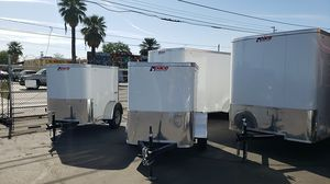 4x6 enclosed cargo trailer for Sale in Phoenix, AZ
