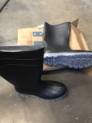 🇺🇸💥 Heartland Men's Size 13 Black Barnyard Rubber Boot for Sale in Pacoima, CA