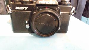 Vintage MINOLTA XD7 35MM SLR FILM CAMERA for Sale in Seattle, WA