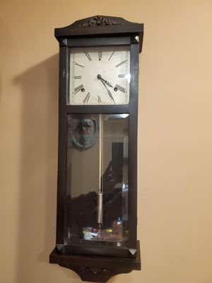 Antique Gilbert Hollywood Wall Clock Serviced for Sale in Northbrook, IL