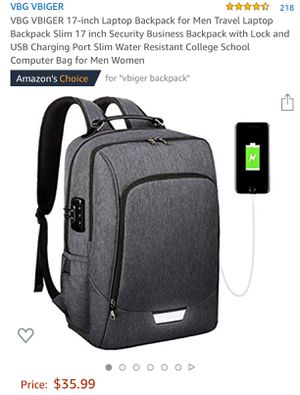 business hiking travel laptop backpack for Sale in Pikeville, TN