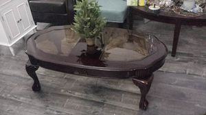 "Modern Coffee Table Solid Wood ""Ethan Allen"" Like New 51""×27"" for Sale in Walnut, CA"