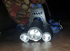 NEW powerfull headlamp (rechargeable) for Sale in Haines City, FL