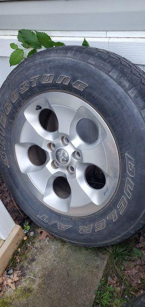 Jeep wrangler wheels for Sale in Monroe, NC