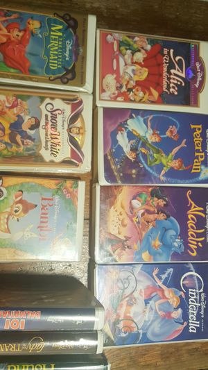 VHS Disney movies for Sale in Shadow Hills, CA