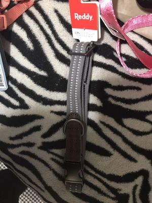 Teddy brand dog collar grey 4.75 for Sale in Houston, TX