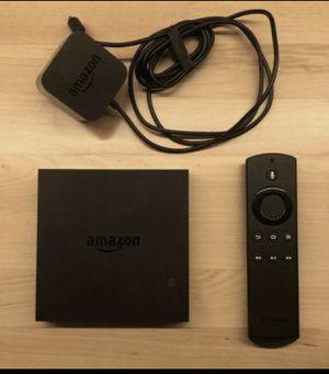Amazon fire TV 2nd Generation 4K Ultra HD for Sale in Phoenix, AZ