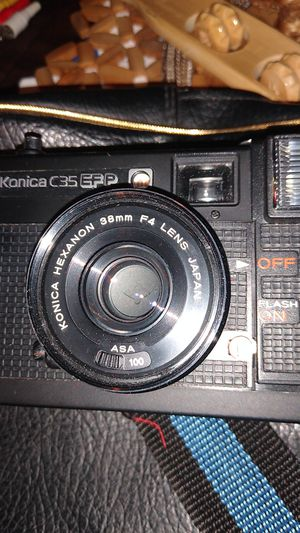 Konica c35 Efp camera and bag for Sale in PA, US