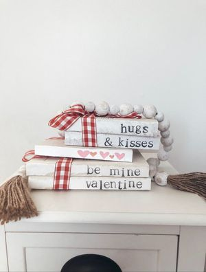 Valentine's Day Farm House Book Stacks for Sale in Fresno, CA