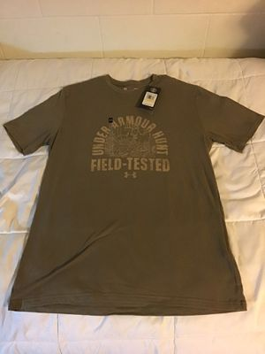Under Armour Field Tested Deer Mens Black Short Sleeve T-Shirt Medium for Sale in San Diego, CA
