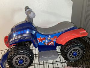 Captain America ride-on toy for Sale in Burbank, CA