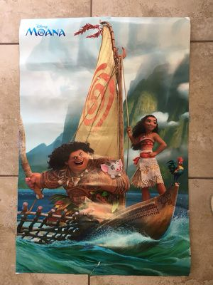 Moana posters for Sale in Hollywood, FL
