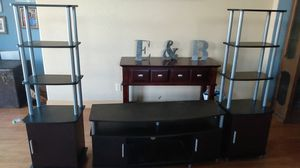 TV Stand and Side Towers for Sale in Hanford, CA