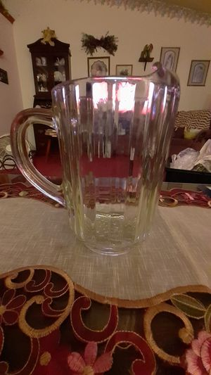 Vintage Colony style Fostoria pitcher for Sale in Kingsley, PA