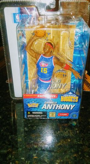 McFarlane NBA Sports Picks Exclusive Carmelo Anthony Action Figure for Sale in El Mirage, AZ