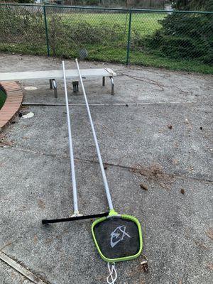 Skimmer, brush, chlorine, floater, testing kit- pool equipment for Sale in Bellevue, WA
