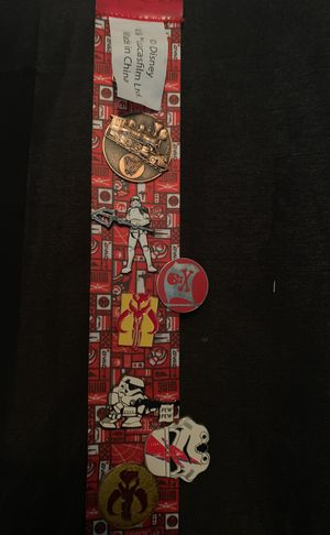 Disney Star Wars pin collection ($300 worth of value) for Sale in Irving, TX
