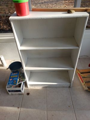 White small book shelf for Sale in Calverton, NY