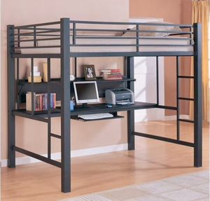 Full Loft Bunk with Workstation for Sale in San Clemente, CA