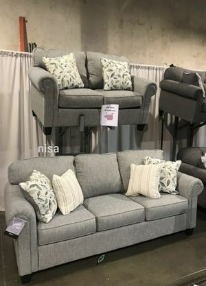$39 Down  🍃🍂 BEST DEAL Alandari Gray Living Room Set 305 for Sale in Jessup, MD