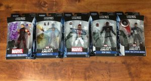 Marvel Legends BAF Abomination Iron Skull, Secret War Captain America, Wonder Man, Captain Britain and Eel for Sale in Houston, TX