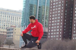 RED HOT HOODIE (RAELI BRAND ) for Sale in Joliet, IL