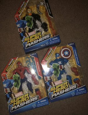 Marvel Super Heroes Mashers Figures for Sale in Columbus, OH