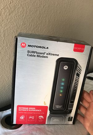 Motorola surfboard extreme cable modem router for Sale in La Mesa, CA